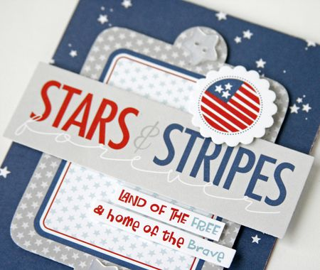 Gretchen McElveen_ All American Card_Stars and Stripes close up