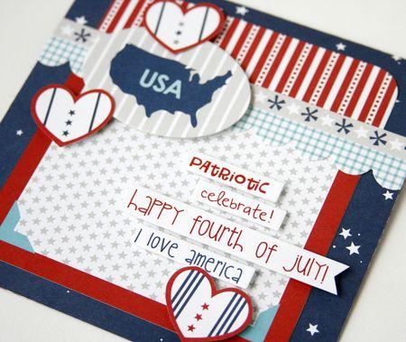 Gretchen McElveen_ All American Card_USA close up