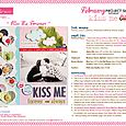 KISS ME PROJECT SHEET 2013
