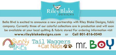 RILEY BLAKE AND BELLA BLVD