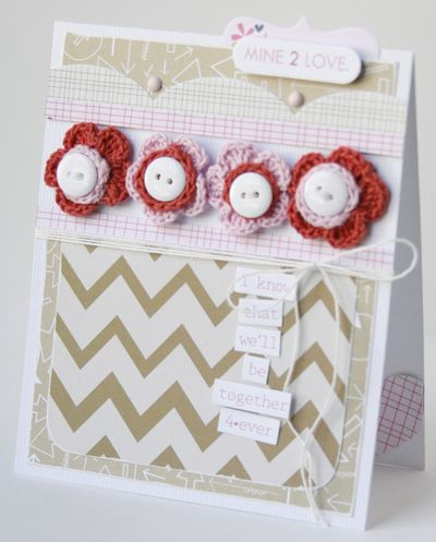 Gretchen McElveen_Crochet Flowers_Mine 2 love card