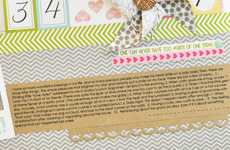 Sheri Reguly - This Makes Me Smile - layout - detail 3
