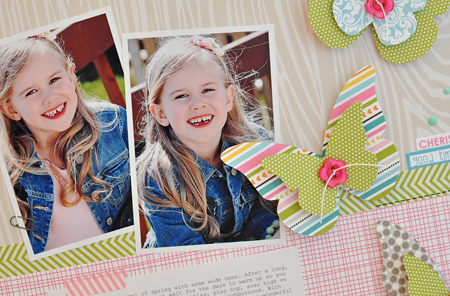 Sheri Reguly - Hello Spring - Layout - detail 1
