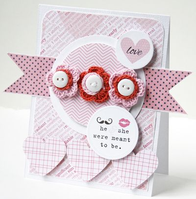 Gretchen McElveen_Crochet Flowers_Love card