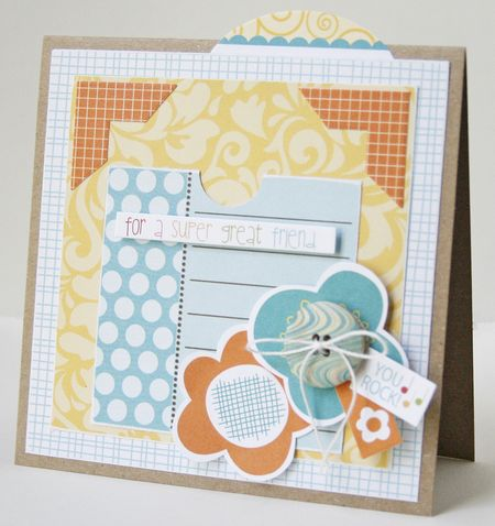 Gretchen McElveen_ Gift card holder_For a Super Great Friend card