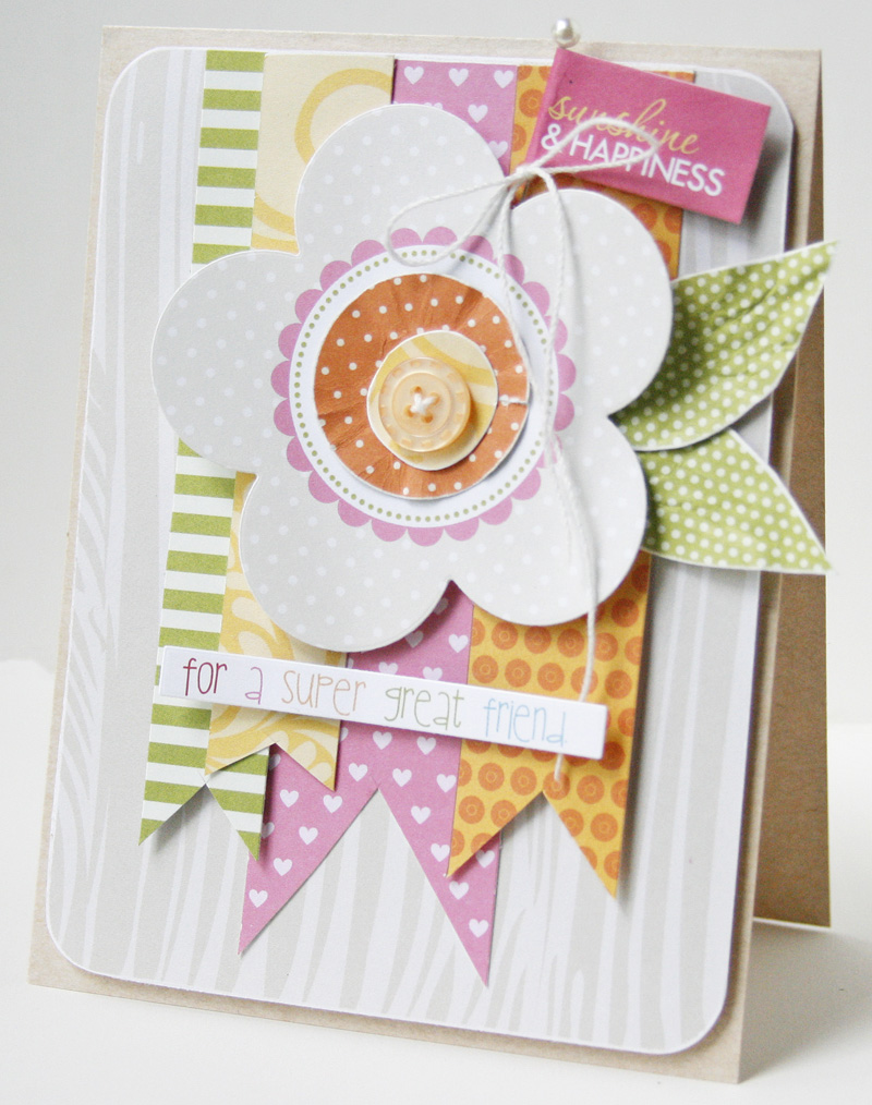 Gretchen McElveen_ Tuesday Inspiration card_Super Great Friend card