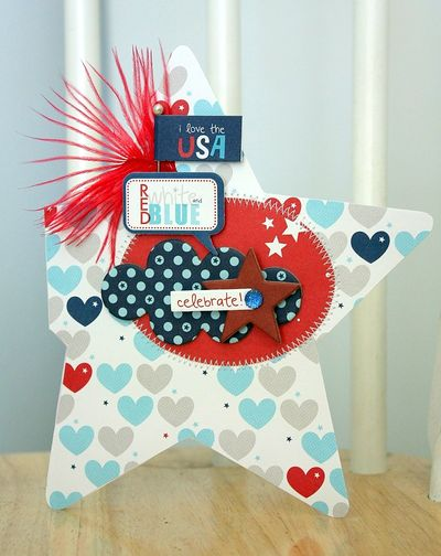 Shellye McDaniel-Star Shaped Card1