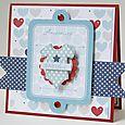 Gretchen McElveen_ Gift card holder_Baby Love2 card