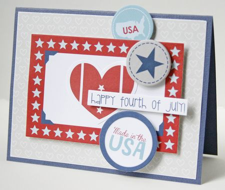 Gretchen McElveen_ All American Card_Happy fourth of July