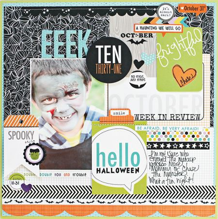 IDEA LAYOUT TRICK OR TREAT