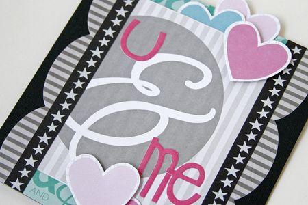 Gretchen McElveen_Pinterest inspiration_U and Me card close up