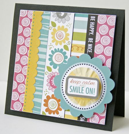 Gretchen McElveen_Pinterest inspiration_Smile On card