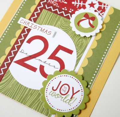 Gretchen McElveen_ Christmas Countdown_Joy to the World card close up
