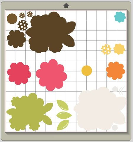 Silhouette Cut Sizes by Color