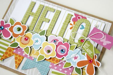 Gretchen McElveen_ Tuesday Inspiration card_Hello close up