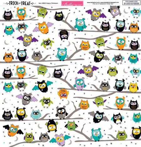 668 HAPPY OWLWEEN