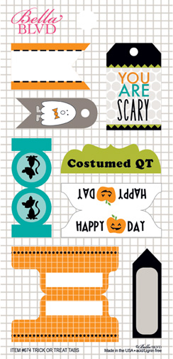 674 TRICK OR TREAT TABS