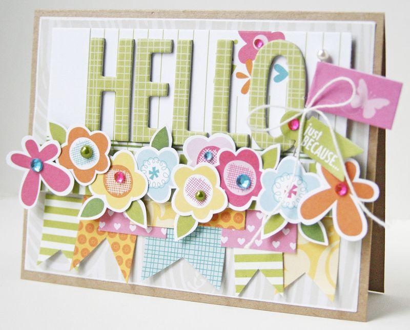 Gretchen McElveen_ Tuesday Inspiration card_Hello card