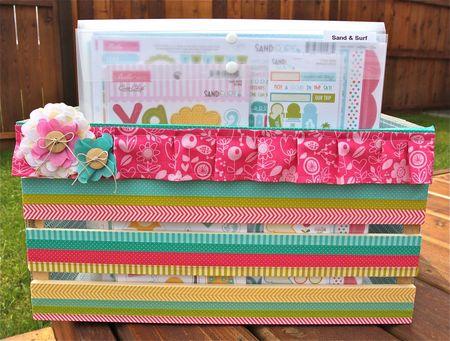 Jennifer edwardson - wooden paper crate 1