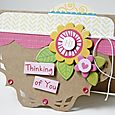 Gretchen McElveen_ shaped card_Thinking of You card