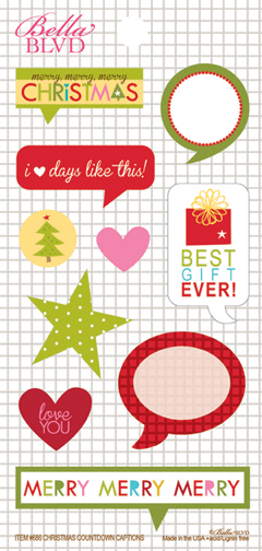 686 CHRISTMAS COUNTDOWN CAPTIONS