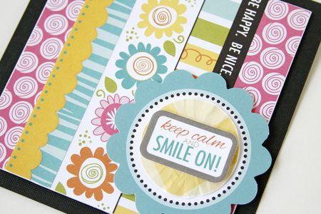 Gretchen McElveen_Pinterest inspiration_Smile On card close up