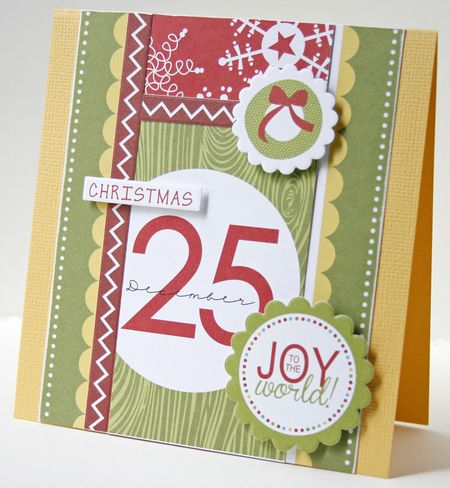 Gretchen McElveen_ Christmas Countdown_Joy to the World card
