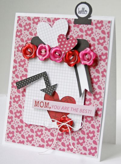 Gretchen McElveen_ 6 embellishments challenge_Mom you are the best card