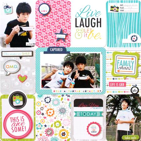 Yohko Takiguchi_Live Laugh & Let it be