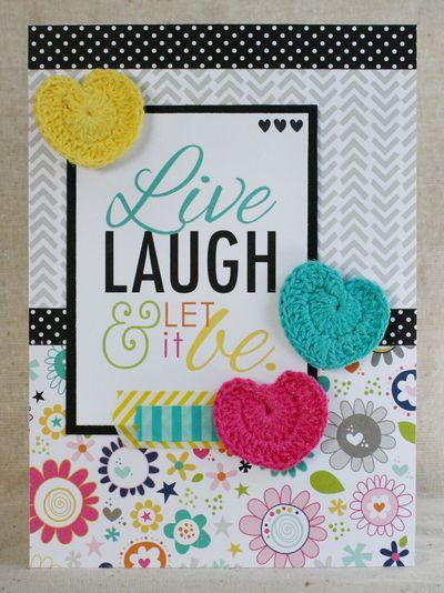 8_Patti Milazzo- Live Laugh CARD