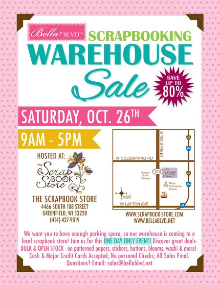 BELLA BLVD WAREHOUSE SALE