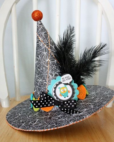 Shellye McDaniel-Trick or Treat Hat