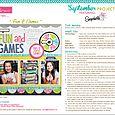 Snapshots Project Sheet 2013