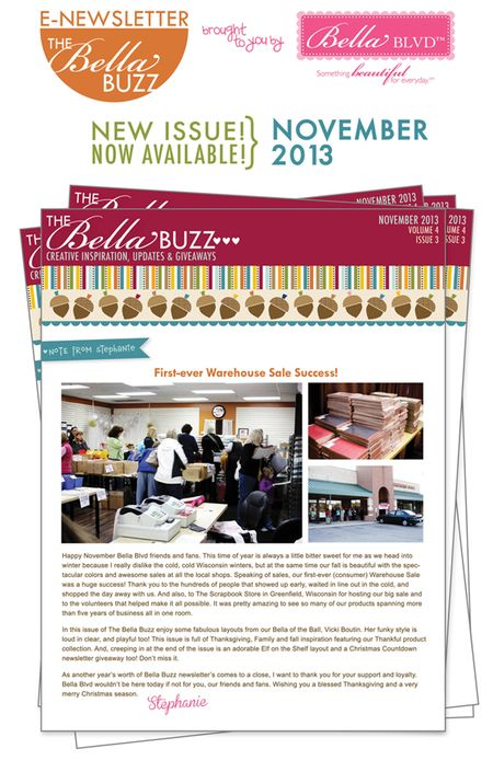 BELLA BUZZ COVER PREVIEW NOV