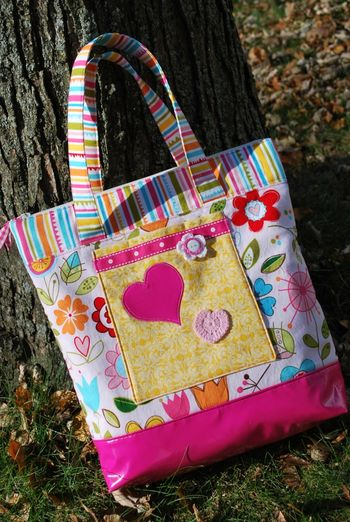 Kathy frye LITTLE GIRLS TOTE BAG photo 1