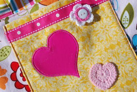 Kathy frye LITTLE GIRLS TOTE BAG detail photo 2