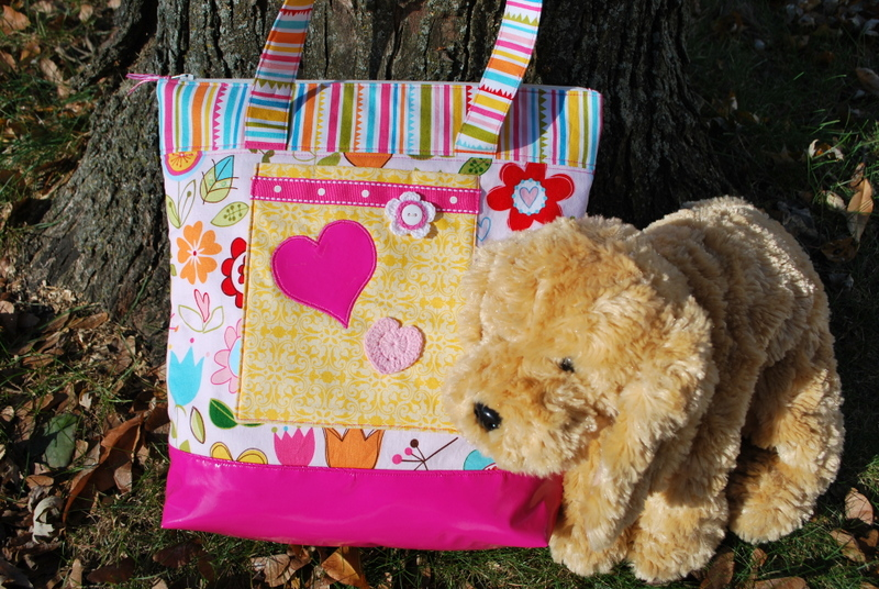 Kathy frye LITTLE GIRLS TOTE BAG photo 3