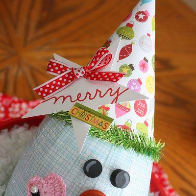 Shellye McDaniel-Snowy Man Ornament3