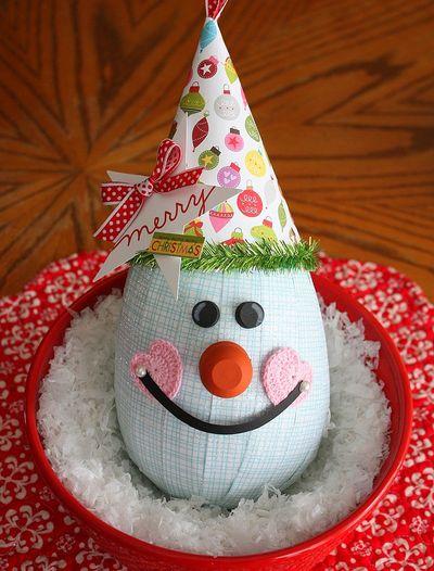 Shellye McDaniel-Snowy Man Ornament5