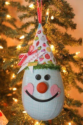 Shellye McDaniel-Snowy Man Ornament1