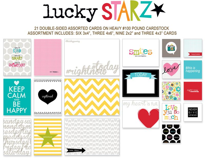 744 CANDID CARDS-LUCKY STARZ2