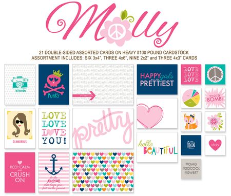 702 CANDID CARDS-MOLLY