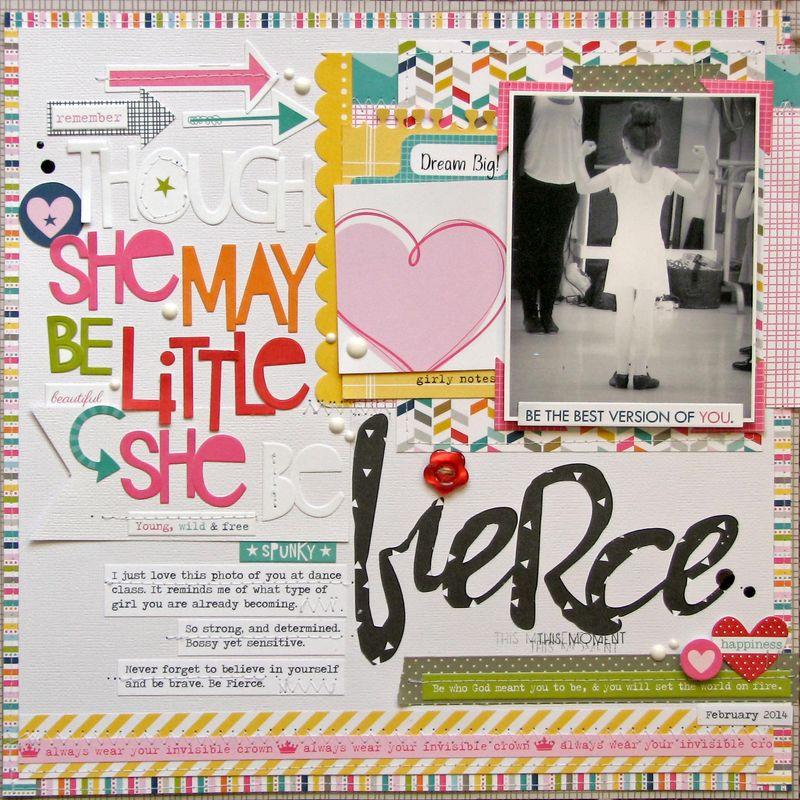 Be fierce_Nicole Nowosad
