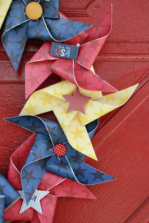 Jen Chesnick- Patriotic Wreath- Bella Blvd- Details1