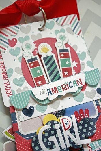 Jen Chesnick- All American Girl- Patriotic Mini-1