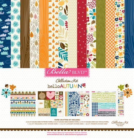 833 COLLECTION KIT HELLO AUTUMN