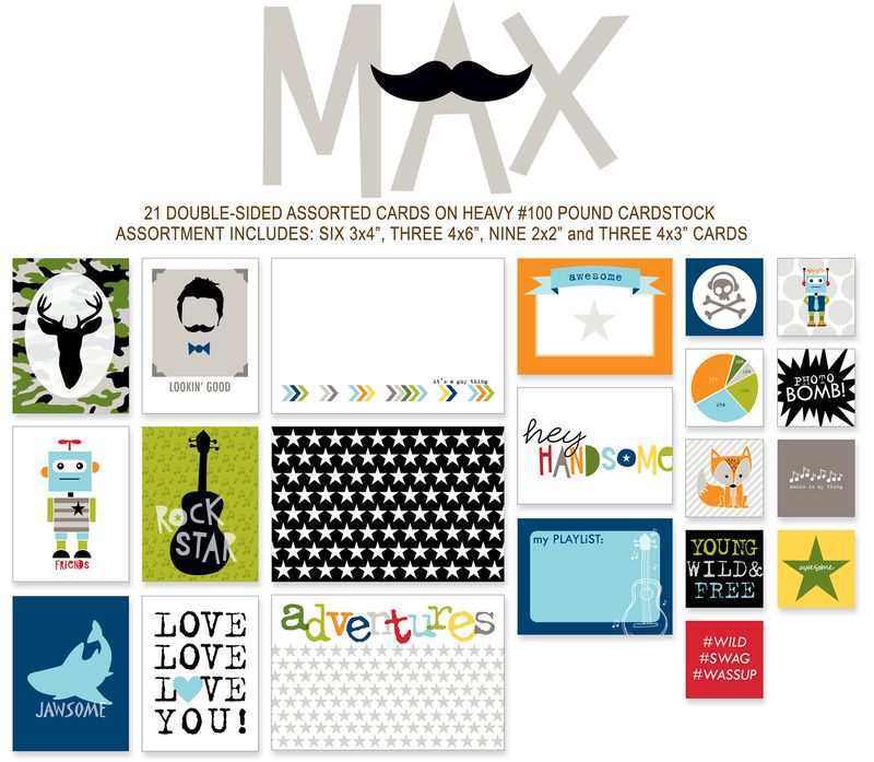 715 CANDID CARDS-MAX