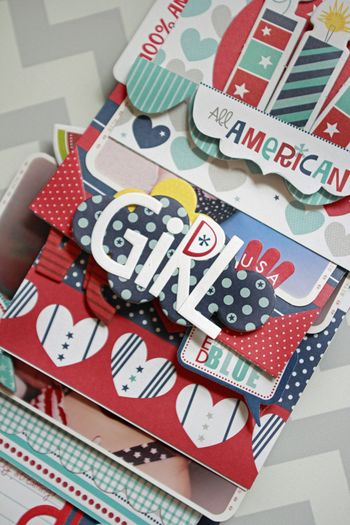 Jen Chesnick- All American Girl- Patriotic Mini-2