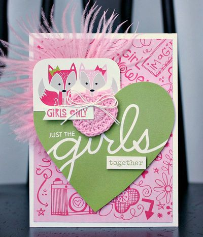 Shellye McDaniel-Just The Girls Card1