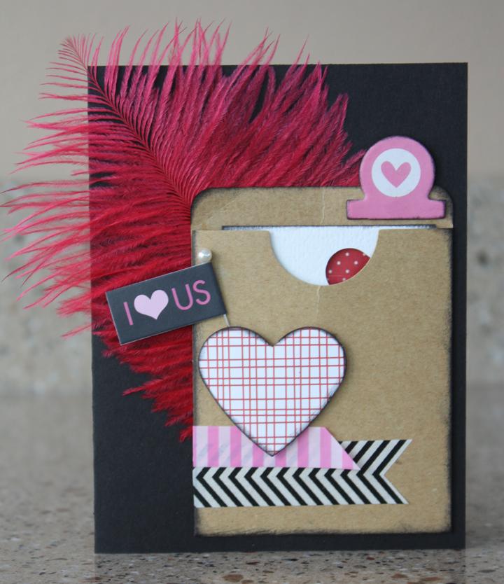 Morgan bandkowski I Love Us Card